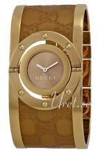 Gucci Twirl Brązowy/Stal w odcieniu złota