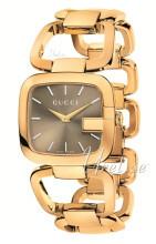 Gucci 125 MD Brązowy/Stal w odcieniu złota