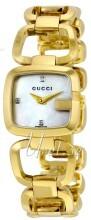 Gucci G Gucci Biały/Stal w odcieniu złota