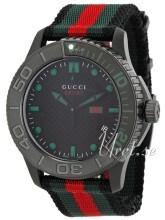 Gucci G-Timeless Czarny/Tkanina