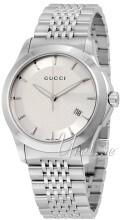 Gucci G-Timeless Srebrny/Stal Ø38 mm