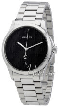Gucci G-Timeless Czarny/Stal Ø38 mm