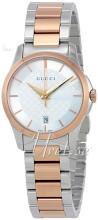 Gucci G-Timeless Srebrny/Stal w kolorze różowego złota