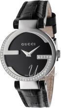 Gucci Interlocking Czarny/Skóra