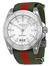 Gucci Biały/Stal