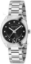 Gucci G- Frame Czarny/Stal Ø29 mm