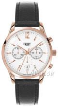 Henry London Finchley Biały/Skóra Ø39 mm