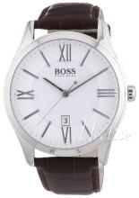 Hugo Boss Srebrny/Skóra Ø44 mm
