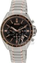 Hugo Boss Czarny/Stal w kolorze różowego złota