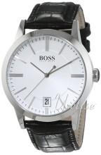 Hugo Boss Srebrny/Skóra Ø42 mm
