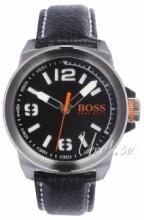 Hugo Boss Czarny/Skóra