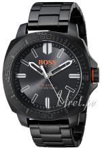 Hugo Boss Czarny/Stal Ø46 mm