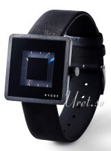 Hygge 2089 All Black Czarny/Skóra Ø32 mm