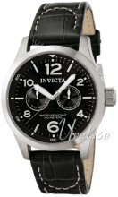 Invicta I-Force Military Czarny/Skóra