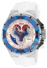 Invicta Excursion Srebrny/Guma