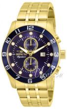 Invicta Signature II Niebieski/Stal w odcieniu złota Ø45 mm