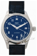 IWC Pilots Classic Niebieski/Skóra