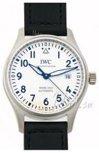IWC Pilots Classic Biały/Skóra