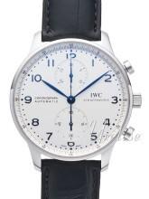 IWC Portuguese Srebrny/Skóra Ø40.9 mm