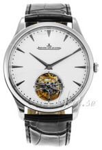 Jaeger LeCoultre Master Ultra Thin Tourbillon White Gold Srebrny