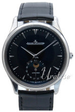 Jaeger LeCoultre Master Ultra Thin Moon Stainless Steel Czarny/S