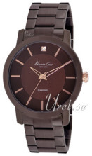 Kenneth Cole Mens Steel Brązowy/Stal