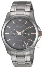 Kenneth Cole Mens Steel Szary/Stal