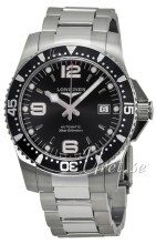 Longines Hydroconquest Czarny/Stal Ø41 mm