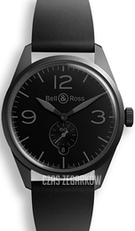 Bell & Ross BR 123 Czarny/Guma Ø41 mm BRV123-PHANTOM