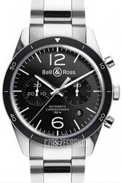 Bell & Ross BR 126 Czarny/Stal Ø41 mm BRV126-BL-BE-SST
