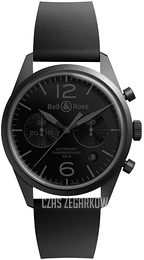 Bell & Ross BR 126 Czarny/Guma Ø41 mm BRV126-PHANTOM