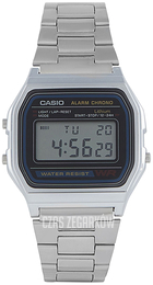 Casio Casio Collection Szary/Stal A158WA-1DF