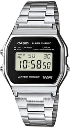 Casio Casio Collection Stal 36.8x33.2 mm A158WEA-1EF