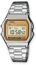 Casio Casio Collection Stal 36.8x33.2 mm A158WEA-9EF