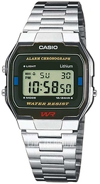 Casio Casio Collection Stal 36.8x33 mm A163WA-1QES