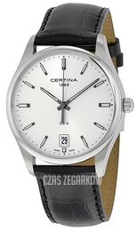 Certina DS 4 Srebrny/Skóra Ø40 mm C022.610.16.031.00