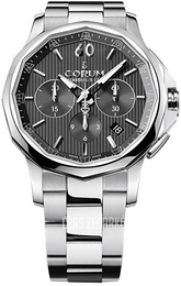 Corum Admirals Cup Legend 42 Czarny/Stal Ø42 mm 984.101.20-V705 AN10