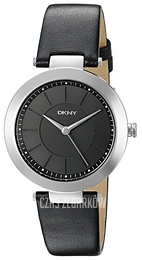 DKNY Dress Czarny/Skóra Ø36 mm NY2465