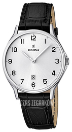 Festina Dress Srebrny/Skóra Ø39 mm F16745-1