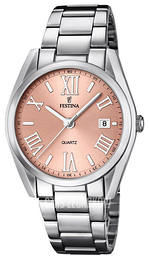 Festina Dress Różowe złoto/Stal Ø37 mm F16790-2
