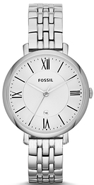 Fossil Dress Biały/Stal Ø36 mm ES3433