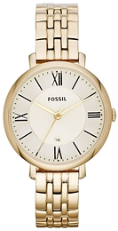 Fossil Dress Zloty/Stal w odcieniu złota Ø36 mm ES3434