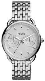 Fossil Dress Biały/Stal Ø35 mm ES3712
