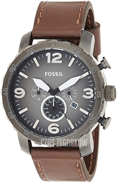 Fossil Casual Szary/Skóra Ø50 mm JR1424