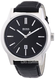 Hugo Boss Architecture Czarny/Skóra Ø44 mm 1512911