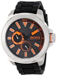 Hugo Boss New York Czarny/Guma Ø50 mm 1513011