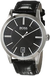 Hugo Boss Success Czarny/Skóra Ø42 mm 1513129