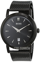 Hugo Boss Slim Czarny/Stal Ø40 mm 1513235