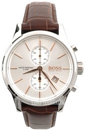 Hugo Boss Jet Srebrny/Skóra Ø42 mm 1513280