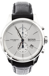 Hugo Boss Jet Srebrny/Skóra Ø42 mm 1513282